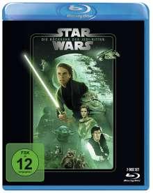Star Wars Episode 6: Die Rückkehr der Jedi-Ritter (Blu-ray), 2 Blu-ray Discs