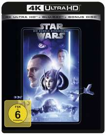 Star Wars Episode 1: Die dunkle Bedrohung (Ultra HD Blu-ray & Blu-ray), 1 Ultra HD Blu-ray und 2 Blu-ray Discs