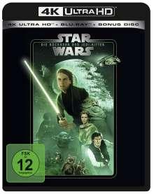 Star Wars Episode 6: Die Rückkehr der Jedi-Ritter (Ultra HD Blu-ray & Blu-ray), 1 Ultra HD Blu-ray und 2 Blu-ray Discs