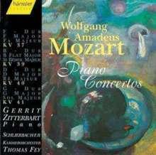 Wolfgang Amadeus Mozart (1756-1791): Klavierkonzerte Nr.1-4, CD