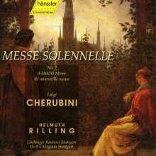 Luigi Cherubini (1760-1842): Missa solemnis Nr.2 d-moll, CD