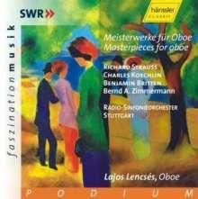 Bernd Alois Zimmermann (1918-1970): Konzert für Oboe & kleines Orchester, CD