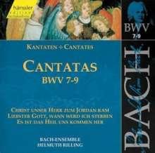Johann Sebastian Bach (1685-1750): Die vollständige Bach-Edition Vol.3 (Kantaten BWV 7-9), CD