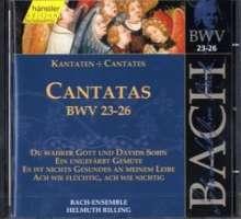 Johann Sebastian Bach (1685-1750): Die vollständige Bach-Edition Vol.8 (Kantaten BWV 23-26), CD