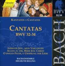 Johann Sebastian Bach (1685-1750): Die vollständige Bach-Edition Vol.11 (Kantaten BWV 32-34), CD