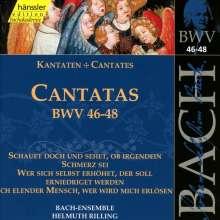 Johann Sebastian Bach (1685-1750): Die vollständige Bach-Edition Vol.16 (Kantaten BWV 46-48), CD