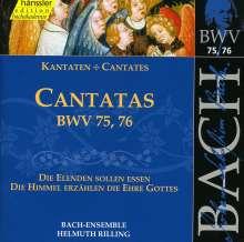 Johann Sebastian Bach (1685-1750): Die vollständige Bach-Edition Vol.24 (Kantaten BWV 75 & 76), CD