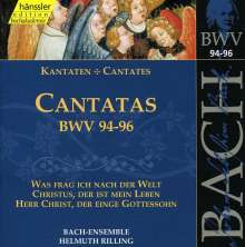 Johann Sebastian Bach (1685-1750): Die vollständige Bach-Edition Vol.30 (Kantaten BWV 94-96), CD