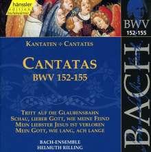 Johann Sebastian Bach (1685-1750): Die vollständige Bach-Edition Vol.47 (Kantaten BWV 152-155), CD