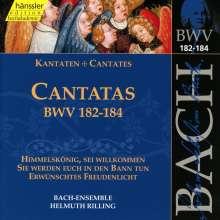 Johann Sebastian Bach (1685-1750): Die vollständige Bach-Edition Vol.55 (Kantaten BWV 182-184), CD