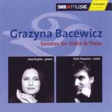Grazyna Bacewicz (1909-1969): Sonaten für Violine & Klavier Nr.2-5, 2 CDs