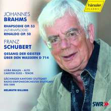 Johannes Brahms (1833-1897): Alt-Rhapsodie op.53, CD