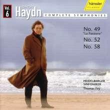 Joseph Haydn (1732-1809): Symphonien Nr.49,52,58, CD