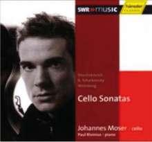 Johannes Moser spielt Cellosonaten, CD