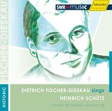 Dietrich Fischer-Dieskau singt Heinrich Schütz, CD
