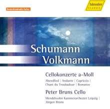 Robert Volkmann (1815-1883): Cellokonzert a-moll op.33, CD