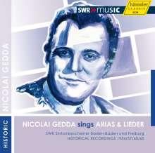 Nicolai Gedda sings Arias & Lieder, CD