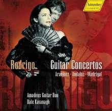 Joaquin Rodrigo (1901-1999): Gitarrenkonzerte, CD