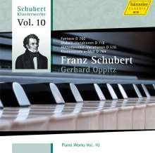 Franz Schubert (1797-1828): Klavierwerke Vol.10, CD