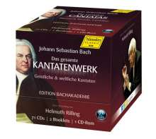Johann Sebastian Bach (1685-1750): Das Kantatenwerk (Geistliche & weltliche Kantaten), 71 CDs
