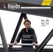 Joseph Haydn (1732-1809): Symphonien Nr.90 & 92, CD
