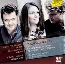 Maurice Ravel (1875-1937): Werke für Violine & Klavier, CD