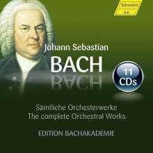Johann Sebastian Bach (1685-1750): Das Orchesterwerk, 11 CDs