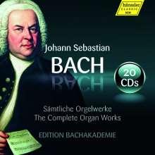 Johann Sebastian Bach (1685-1750): Sämtliche Orgelwerke - Edition Bachakademie, 20 CDs