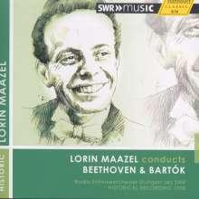 Lorin Maazel conducts Beethoven & Bartok, CD