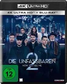 Die Unfassbaren 2 (Ultra HD Blu-ray & Blu-ray), 1 Ultra HD Blu-ray und 1 Blu-ray Disc
