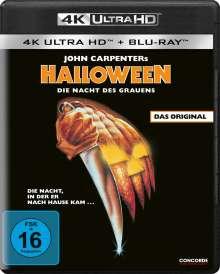 Halloween (1978) (Ultra HD Blu-ray & Blu-ray), 1 Ultra HD Blu-ray und 1 Blu-ray Disc