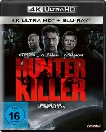 Hunter Killer (Ultra HD Blu-ray & Blu-ray), 1 Ultra HD Blu-ray und 1 Blu-ray Disc