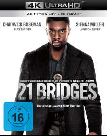 21 Bridges (Ultra HD Blu-ray & Blu-ray), 1 Ultra HD Blu-ray und 1 Blu-ray Disc