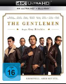 The Gentlemen (Ultra HD Blu-ray & Blu-ray), 1 Ultra HD Blu-ray und 1 Blu-ray Disc