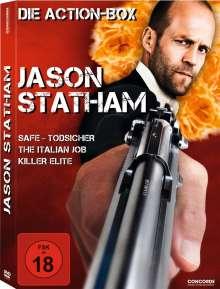 Jason Statham Action-Box, 3 DVDs