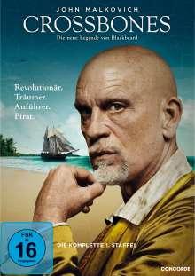 Crossbones Season 1, 3 DVDs