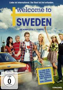 Welcome to Sweden Season 1, 2 DVDs