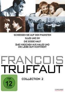 Francois Truffaut Collection 2, 4 DVDs
