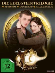 Die Edelsteintrilogie: Rubinrot / Saphirblau / Smaragdgrün, 4 DVDs