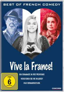 Vive La France! Best of French Comedy, 3 DVDs