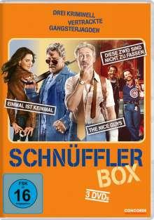 Schnüffler-Box (3 Filme), 3 DVDs