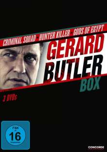 Gerard Butler Box, 3 DVDs
