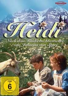Heidi (1993), DVD