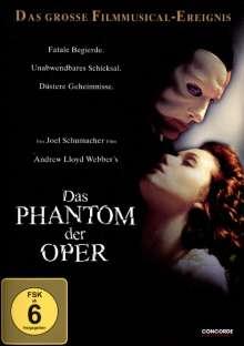 Das Phantom der Oper (2004), DVD