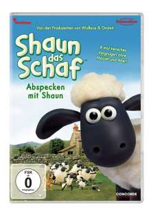 Shaun das Schaf Staffel 1 Vol. 1: Abspecken mit Shaun, DVD