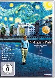 Midnight in Paris, DVD