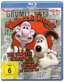 Wallace und Gromit - Complete Collection (Blu-ray), Blu-ray Disc