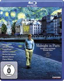 Midnight in Paris (Blu-ray), Blu-ray Disc