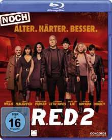 R.E.D. 2 (Blu-ray), Blu-ray Disc