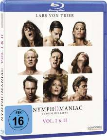 Nymphomaniac Vol. 1 & 2 (Blu-ray), Blu-ray Disc